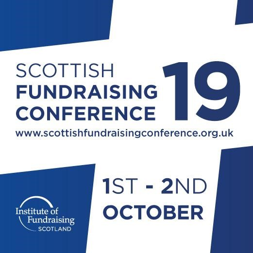 Scottish Fundraising Conference 2019 collateral