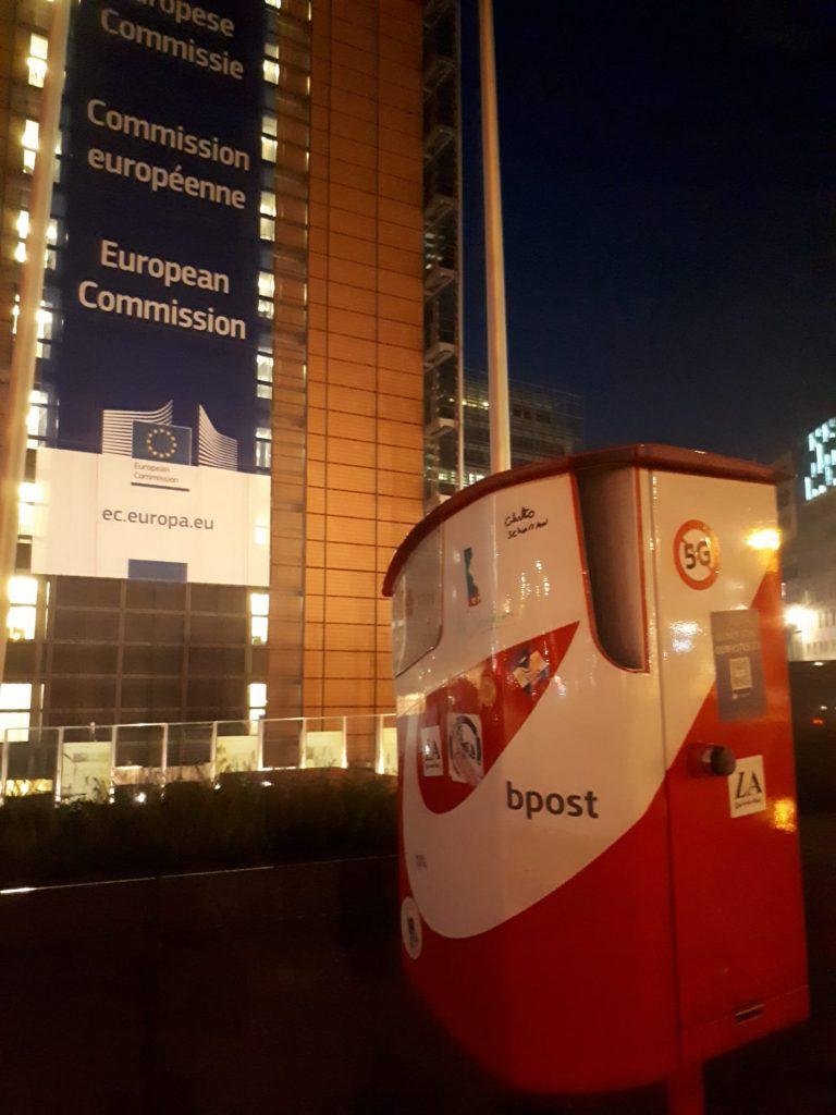 Belgian post box