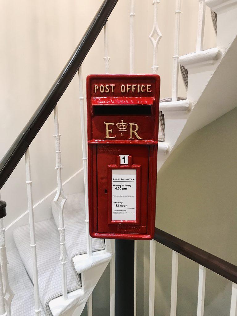 dragonfly agency edinburgh office post box