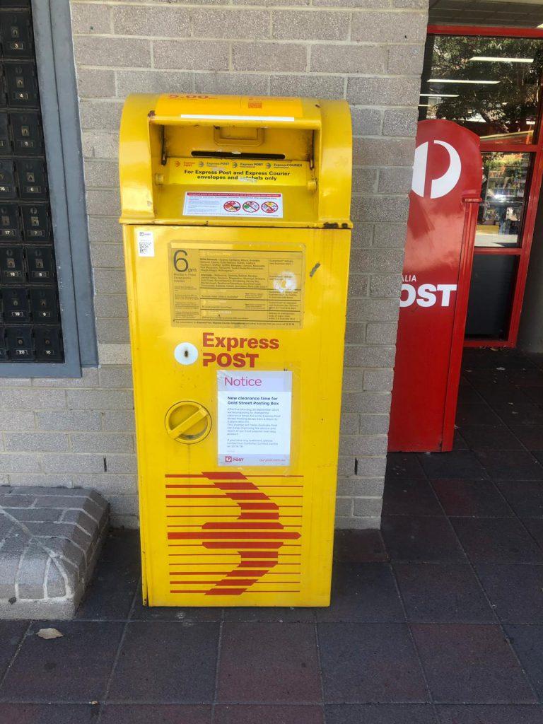 Australian post box